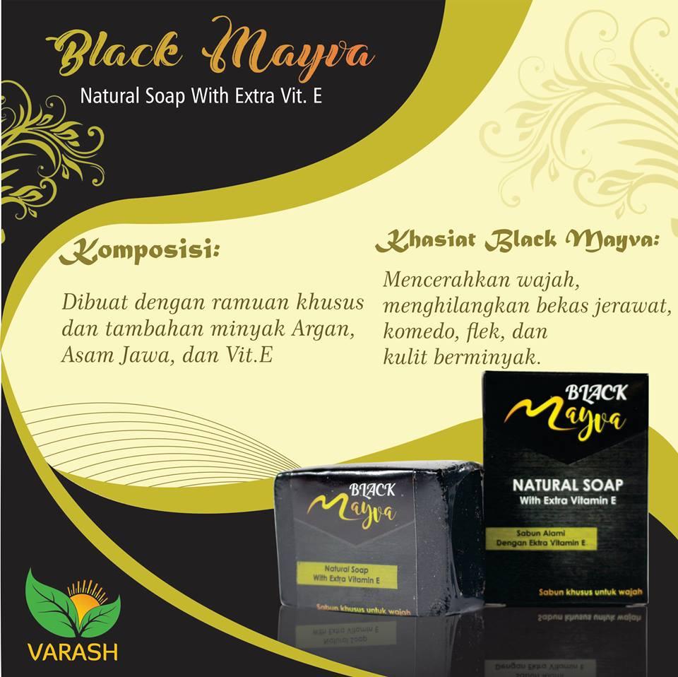 sabun black mayva